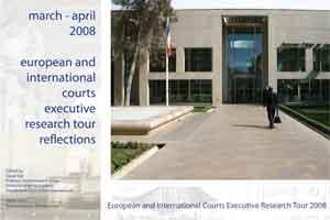 2008 European Courts Tour Report
